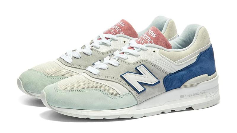 New Balance 997 Made in USA Grey Green