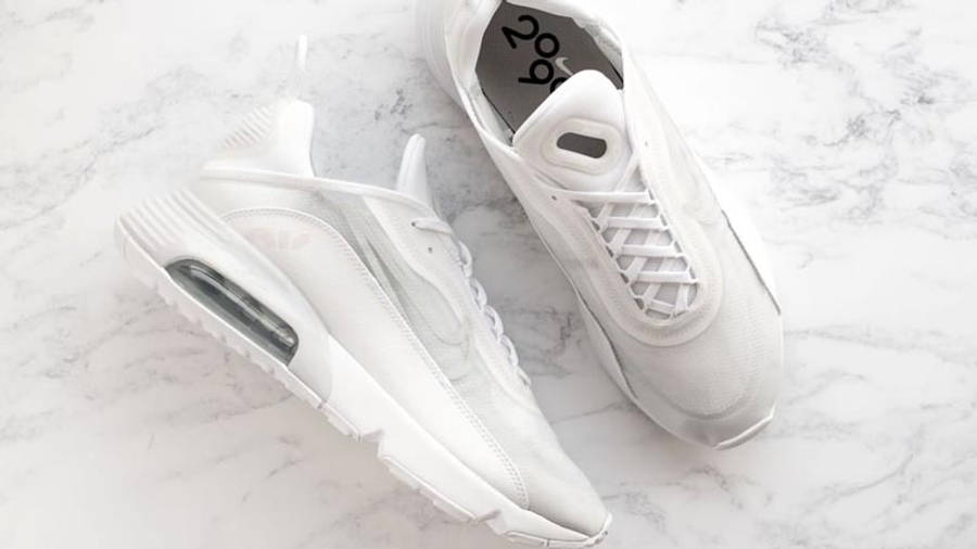 Nike Air Max 2090 White Wolf Grey Side-by-side