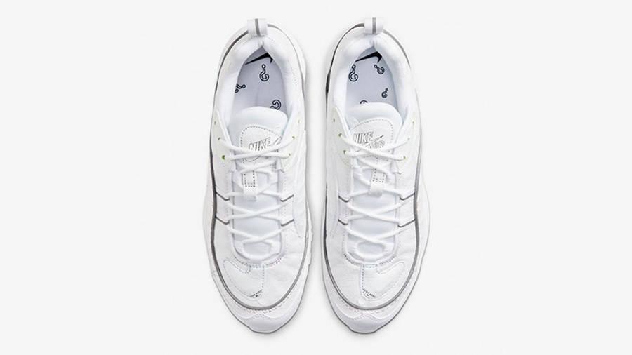 Nike Air Max 98 Tear-Away White Multi CJ0634-101 middle