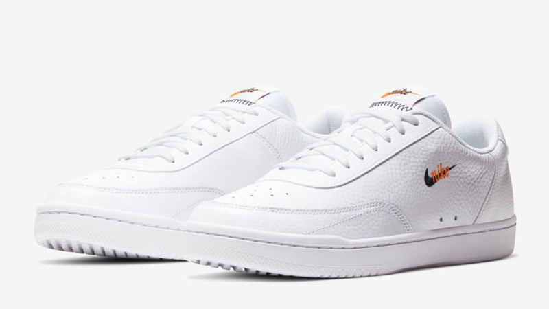 Nike Court Vintage Premium White Orange