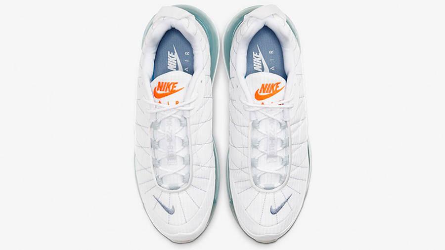 Nike MX-720-818 White Indigo Fog CT1266-100 middle