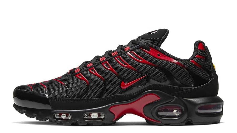 Nike TN Air Max Plus Black University Red | Where To Buy | CU4864 ...