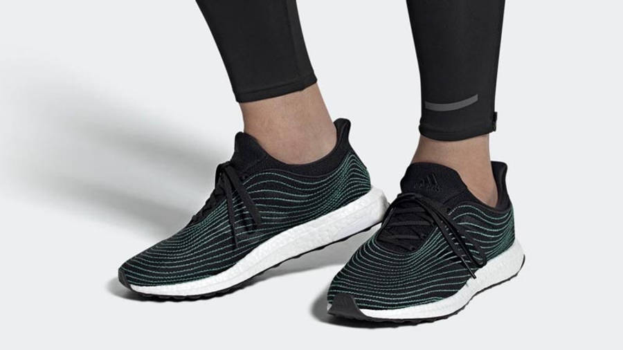 Parley x adidas Ultra Boost DNA Core Black Middle On Foot