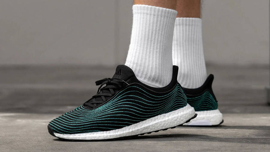 Parley x adidas Ultra Boost DNA Core Black On Foot