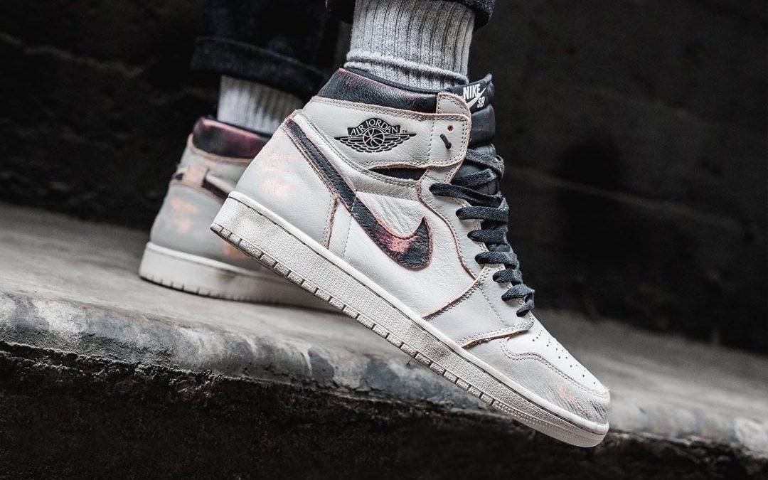 The Nike SB x Air Jordan 1 High Defiant