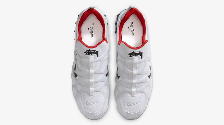 Stussy x Nike Air Zoom Spiridon KK White Middle
