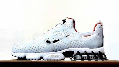 Stussy x Nike Air Zoom Spiridon KK White side
