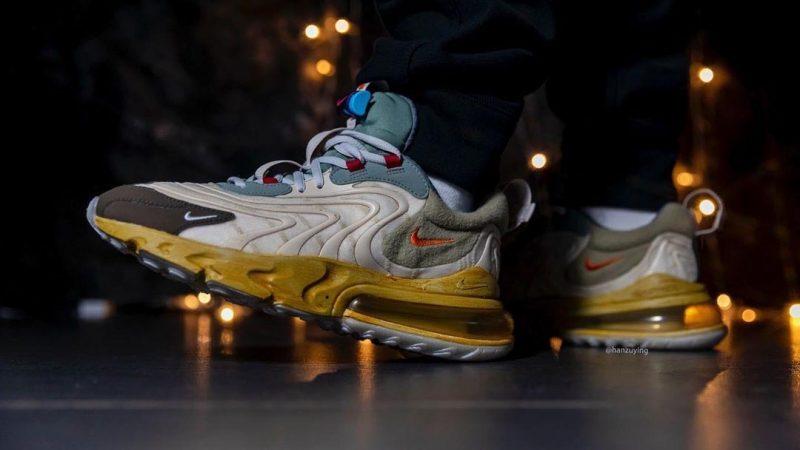The Travis Scott x Nike Air Max 270 React