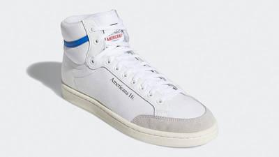 adidas Americana Hi White Glory Blue EG5522 front
