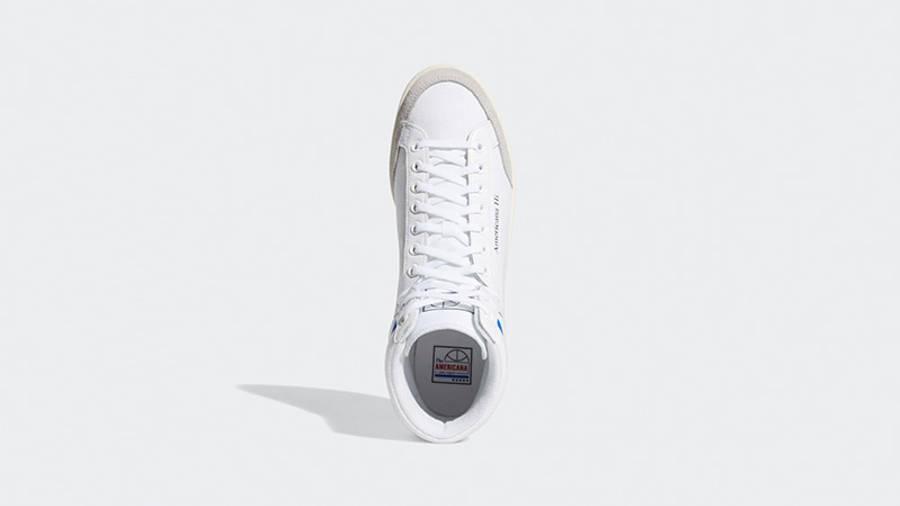 adidas Americana Hi White Glory Blue EG5522 middle
