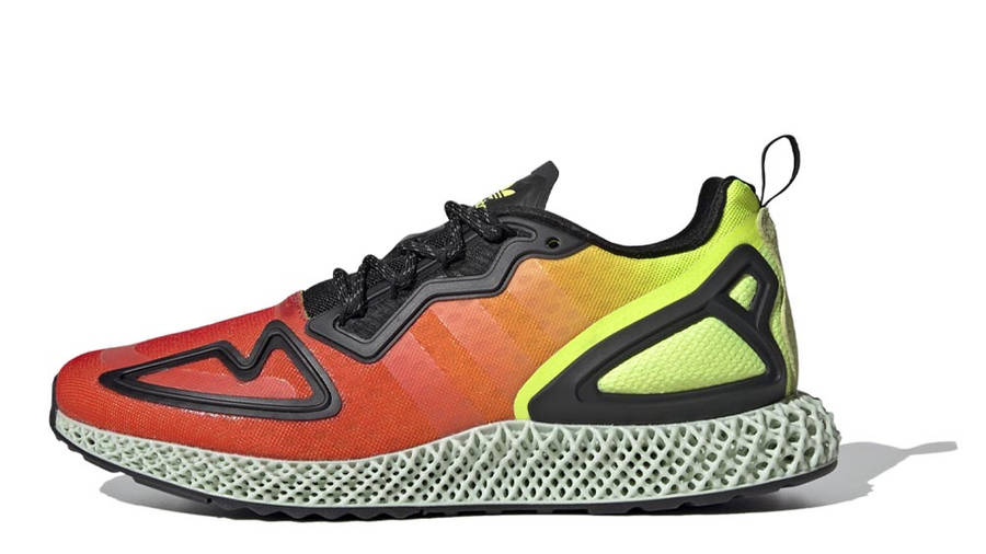 adidas ZX 2K 4D Solar Yellow Red