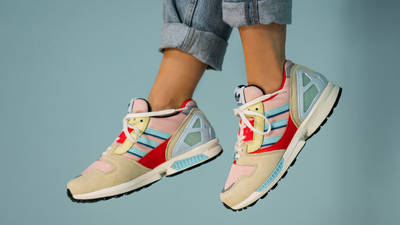 adidas ZX 8000 Vapour Pink On Foot