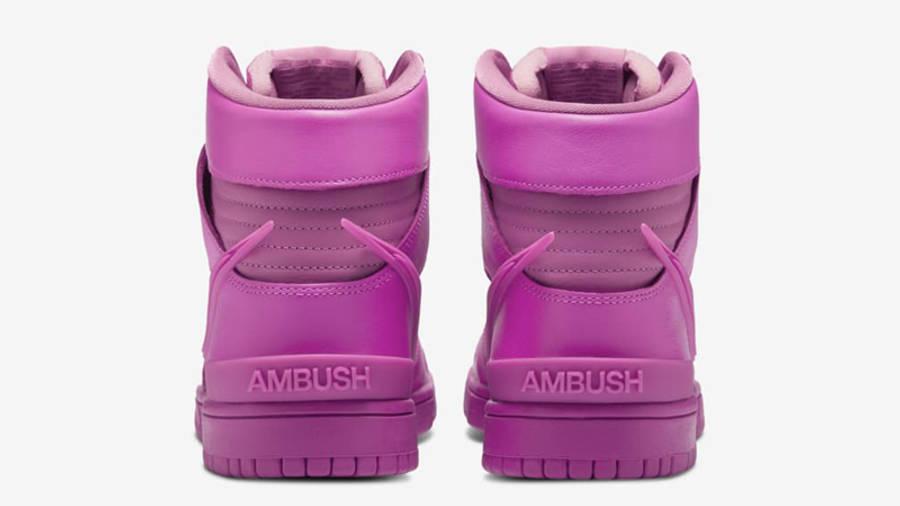 AMBUSH x Nike Dunk High Lethal Pink Back