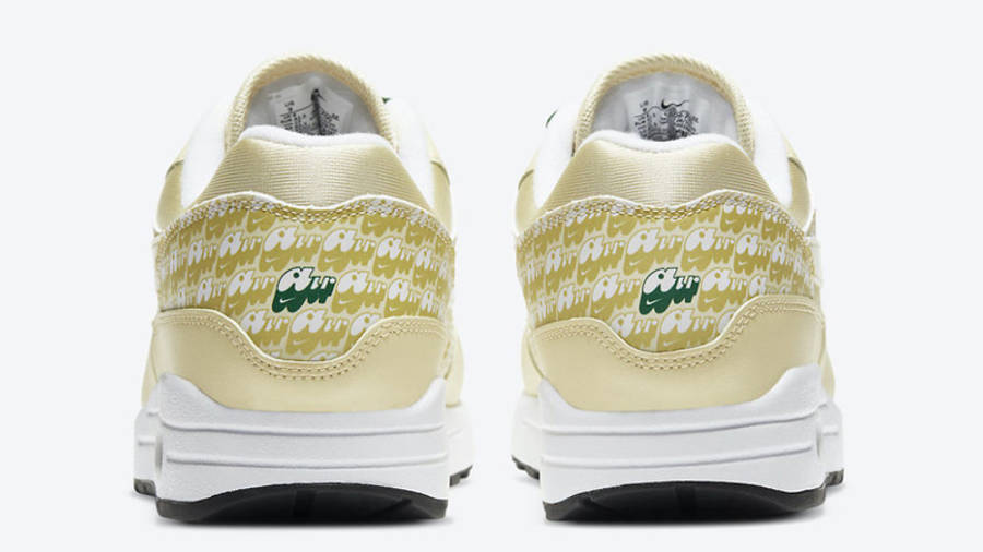Nike Air Max 1 Powerwall Lemonade Back