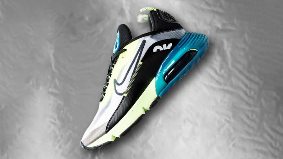 Nike Air Max 2090 White Volt Top