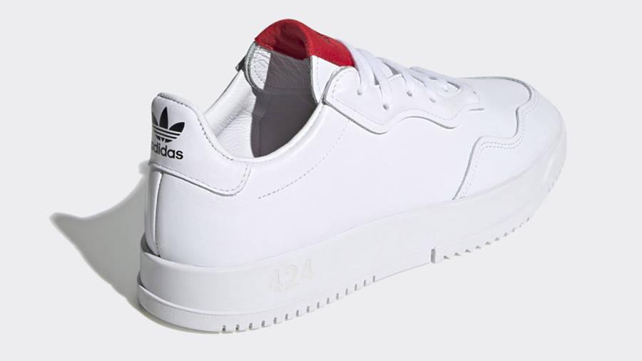 424 x adidas SC Premiere White Back