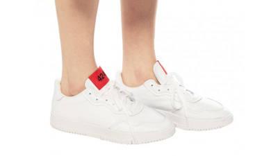 424 x adidas SC Premiere White On Foot