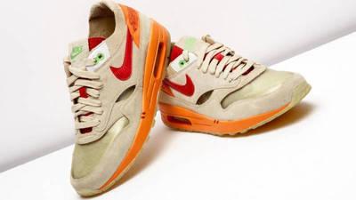 CLOT x Nike Air Max 1 Kiss of Death 2021 Lifestyle Slanted