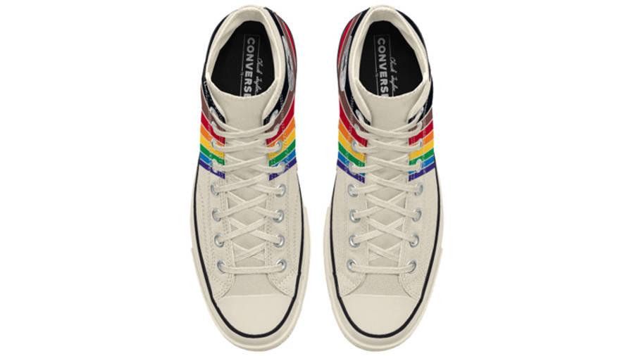 Converse Chuck 70 Hi Pride 2020 Cream Middle