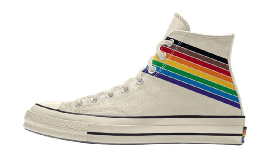 Converse Chuck 70 Hi Pride 2020 Cream