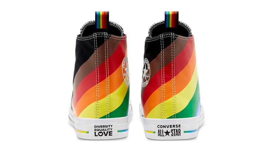 Converse Chuck Taylor All Star Hi Pride 2020 Black Back