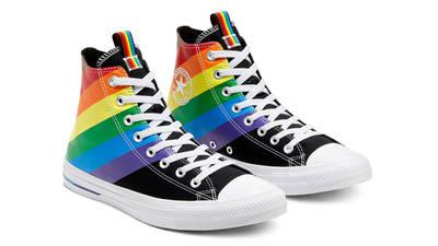 Converse Chuck Taylor All Star Hi Pride 2020 Black Front