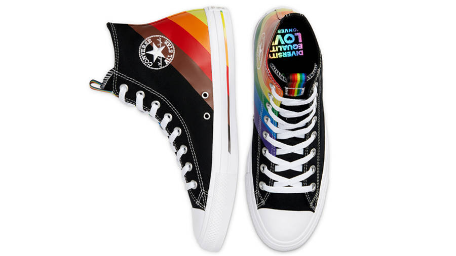 Converse Chuck Taylor All Star Hi Pride 2020 Black Middle
