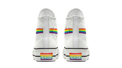 Converse Chuck Taylor All Star Hi Pride 2020 Rainbow White Back