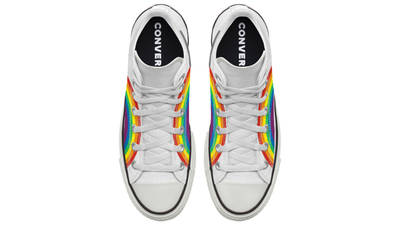 Converse Chuck Taylor All Star Hi Pride 2020 Rainbow White Middle