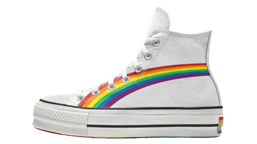 Converse Chuck Taylor All Star Hi Pride 2020 Rainbow White