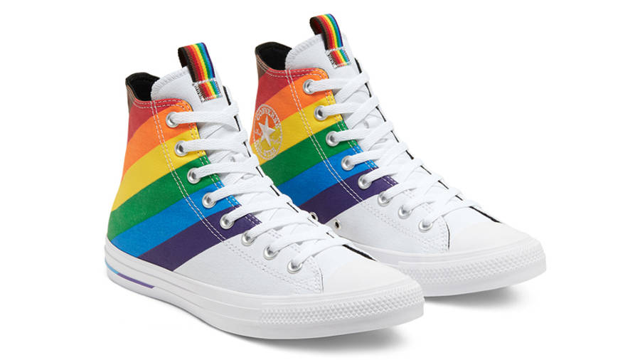 Converse Chuck Taylor All Star Hi Pride 2020 White Front
