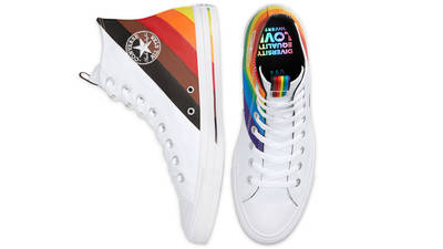 Converse Chuck Taylor All Star Hi Pride 2020 White Middle