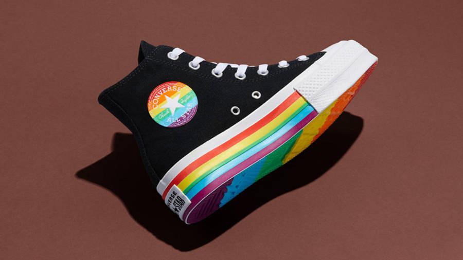 Converse Chuck Taylor All Star Platform Pride 2020 Black Lifestyle