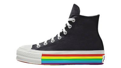 Converse Chuck Taylor All Star Platform Pride 2020 Black