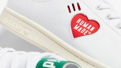 Human Made x adidas Stan Smith White Green Brand