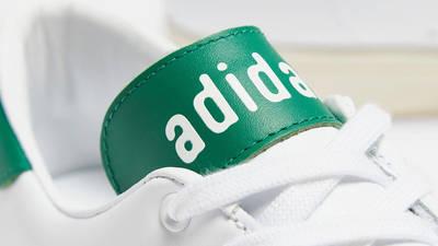 Human Made x adidas Stan Smith White Green Closeup