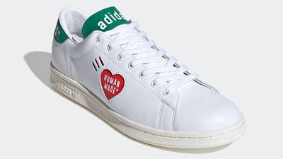 Human Made x adidas Stan Smith White Green FY0734 front