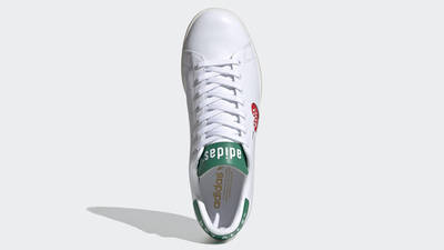 Human Made x adidas Stan Smith White Green FY0734 middle