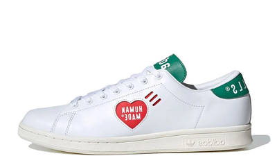 Human Made x adidas Stan Smith White Green FY0734