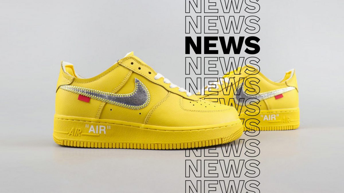 The Off-White x Nike Air Force 1