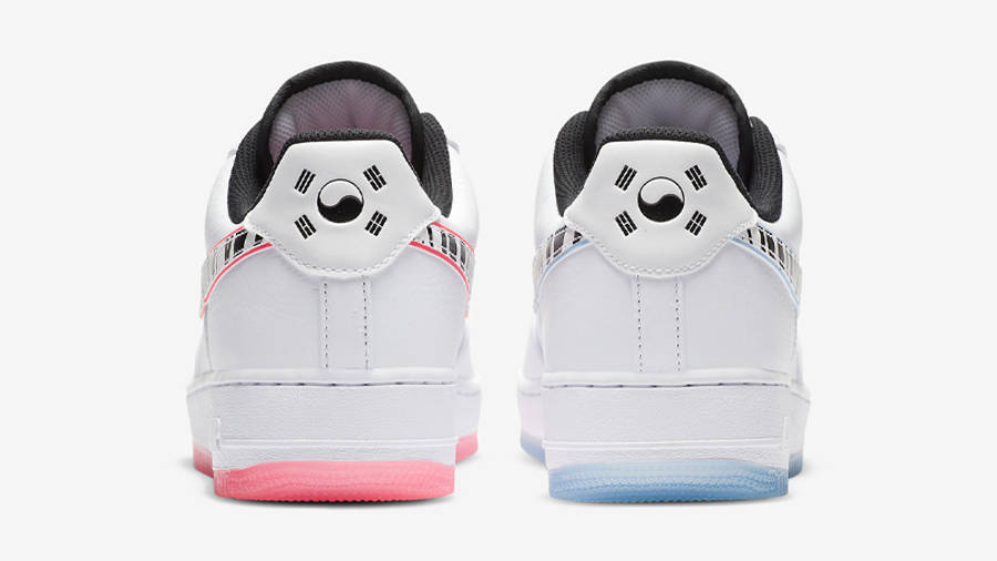 Nike Air Force 1 Low South Korea White Multi | Where To Buy ...