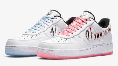 Nike Air Force 1 Low South Korea White Multi Front