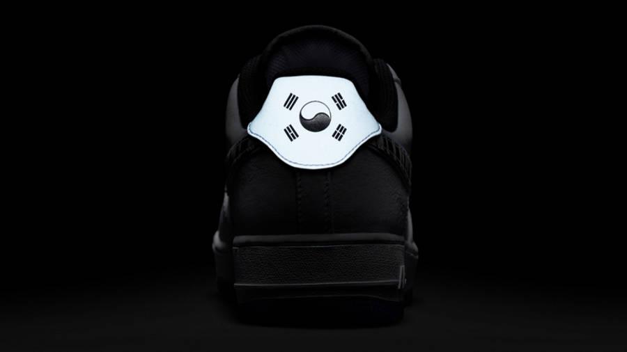 Nike Air Force 1 Low South Korea White Multi In Dark Back