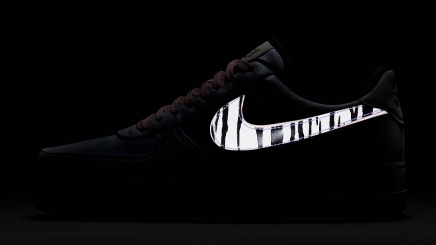 Nike Air Force 1 Low South Korea White Multi In Dark Swoosh