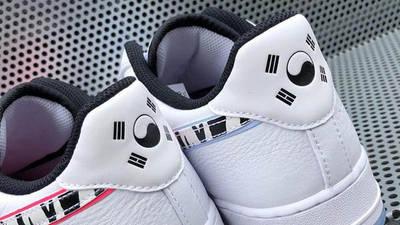 Nike Air Force 1 Low South Korea White Multi Lifestyle Back