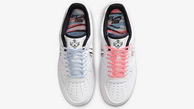 Nike Air Force 1 Low South Korea White Multi Middle