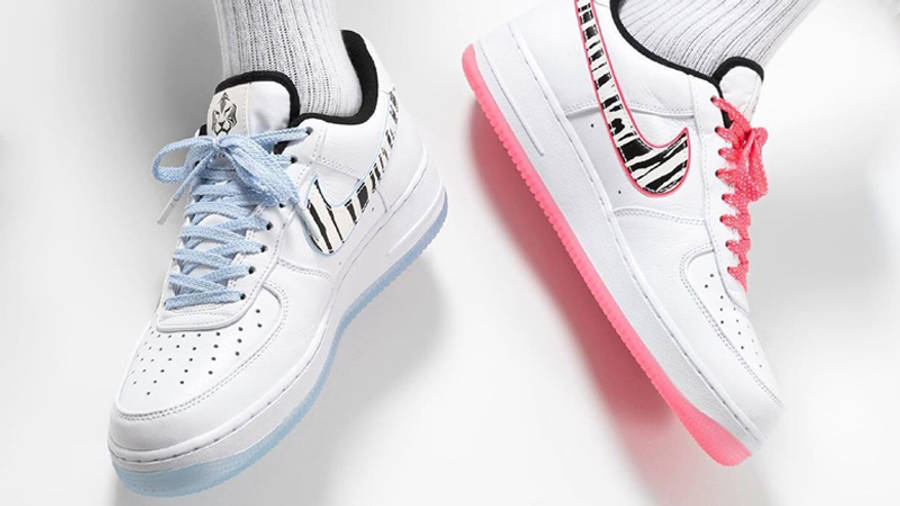 Nike Air Force 1 Low South Korea White Multi On Foot
