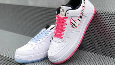 Nike Air Force 1 Low South Korea White Multi On Steps