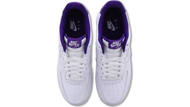 Nike Air Force 1 Low Voltage Purple CJ1380-100 middle