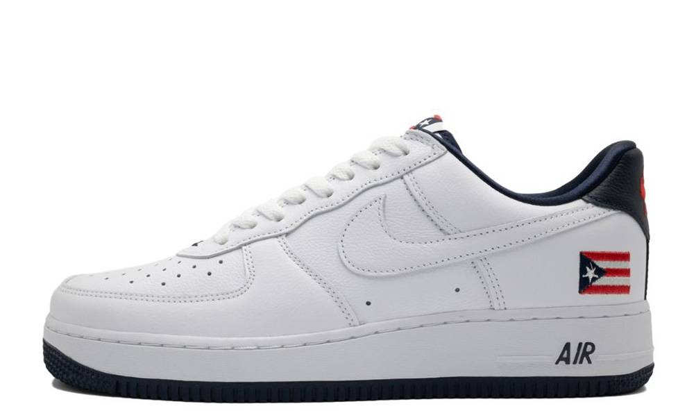 Nike Air Force 1 Puerto Rico   Where To